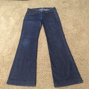 Ladies 7 For All Mankind Dojo Jeans